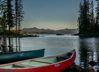 Waldo Lake, Oregon with the Hobie Adventure Island 25-Aug-16