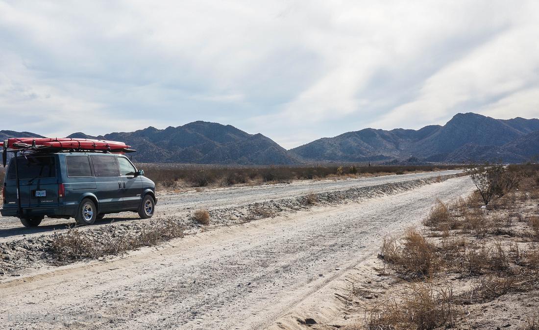on the road to Coco's corners, Baja