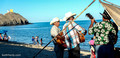 Serenaders on beach, San Felipe